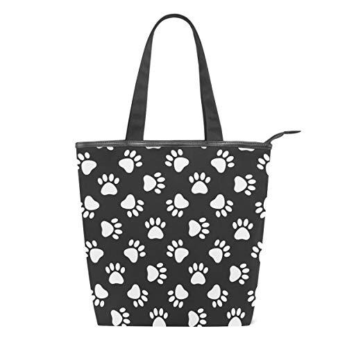 Bolsa de Lona para Mujer con diseño de Pata de Gato, con...