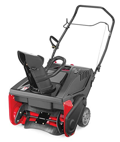 Craftsman 179cc Electric Start Single Stage Gas Powered Snow Blower with 21-Inch...