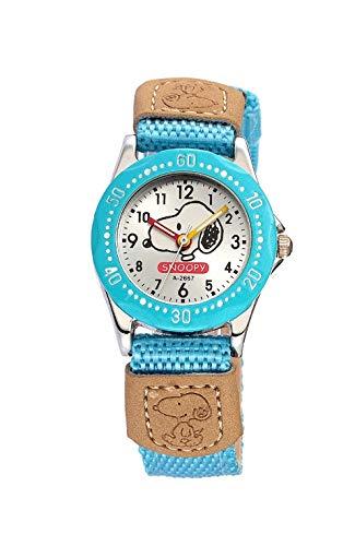 SJXIN schöne und stilvolle SKONE Uhr, Kinderuhr Quarzuhr Cartoon Uhr Snoopy Uhr Mode Uhren (Color : 11)