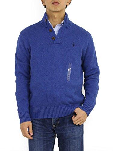 Polo Ralph Lauren Men's 3 Button Mock Neck Sweaters