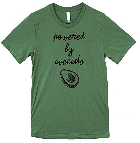 The Bold Banana Powered by Avocado T-Shirt, X-Large, Heather Green