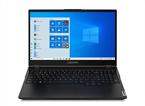 Lenovo Legion 5 - Ordenador portátil Gaming 15.6' FullHD (Intel Core i7-10750H, 16GB RAM, 1TB SSD, GeForce GTX 1650 4GB, Windows 10) Negro (82AU00C6SP)