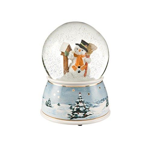Goebel Weihnachten Hier ist Dein Häuschen - Schneekugel Bunt