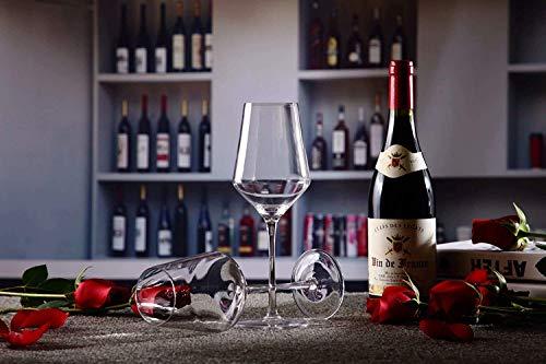 400ml Crystal wijnglazen Bourgondië wijnglazen Gift Set Vaatwasser Safe 21oz Set van 4 Geen merk