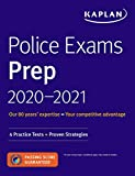 Kaplan Police Exams Prep 2020-2021: 4 Practice Tests + Proven Strategies