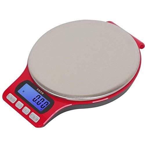 Keuken Home Multifunctionele Voedselweegschaal Precisie Mini Home Keukenweegschaal 0.1G Voedsel Medicinale Thee Vogelnest Elektronische Weegschaal 0.01G Schaal Mini O-2000G/0.1G