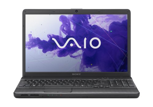 Sony VAIO EH2 Series VPCEH24FX/B 15.5-Inch Laptop (Charcoal Black)