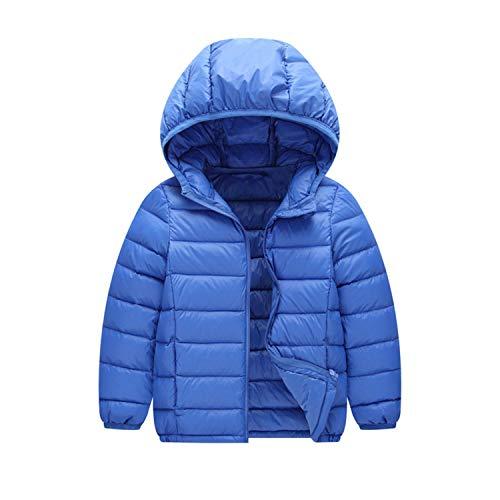 shepretty Kinder Junge Mädchen Ultraleichte Daunenjacke Mit Kapuze Herbst Winter Warme Jacket Steppjacke Daunenmantel
