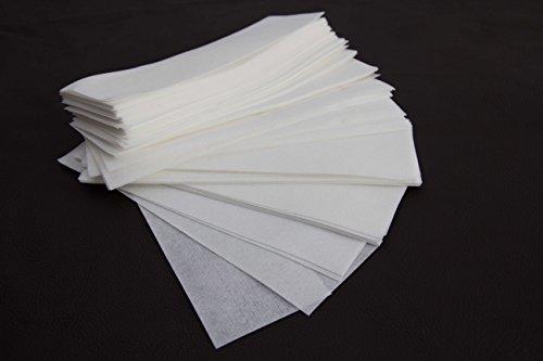 100 Vliesstreifen Wachsstreifen,20 x 7 cm,Enthaarung,Haarentfernung,Wachspatronen,Wachs,Sugaring,Zuckerpaste