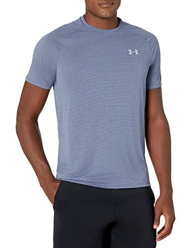 Under Armour Men's Tech 2.0 Novelty Short-Sleeve T-Shirt , Blue Ink (497)/Mod Gray , Medium