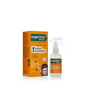 Neositrin Spray gel tratamiento para eliminar piojos y liendres en 1 minuto -100ml
