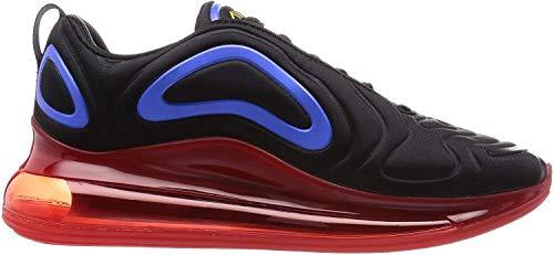 Nike Air Max 720 Laufschuh für Herren, Schwarz (Black/University Gold-hyper Royal), 39 EU