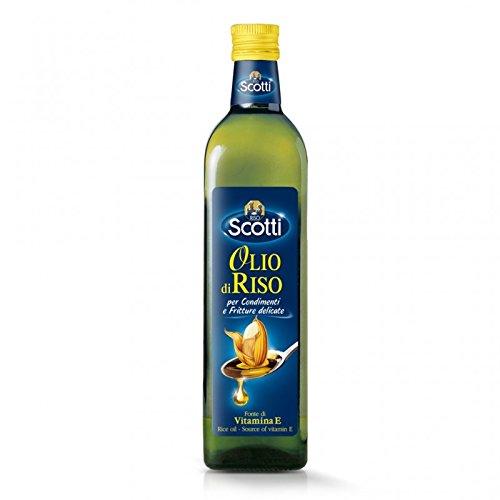 Bottiglia di Olio di Riso Scotti da 750 ml