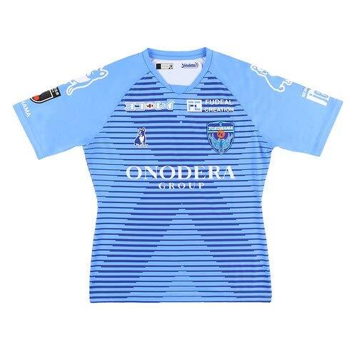 [サッカージャンキー] 横浜FC ユニホーム 2020 ホーム オーセンティック YSJ20001 (ブルー, L)
