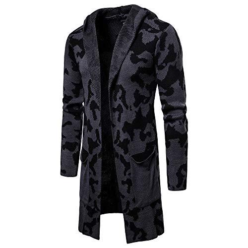 FRAUIT Mannen jas capuchon wollen jas mannen jas jas winterjas warmte mantel heren mantel lange mantel vrije tijd outwear trenchcoat overgangsjas bovenstukken groen zwart grijs rood M-XXL