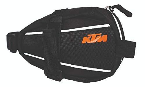 KTM MTB–Sillín de Bicicleta Bolsa–Vecro Road–Reflex Ribete + Key Holder (8–059)