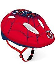 Disney Spiderman fietshelm voor jongens, meerkleurig, maat: 52-56cm