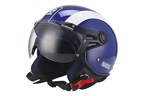 Sparco HELM 501 BLUE/WHITE GRÖSSE L