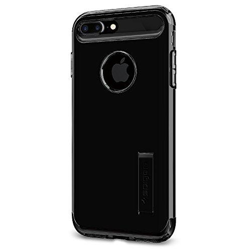 Spigen Cover Slim Armor Compatibile con Compatibile con iPhone 8 Plus Compatibile con iPhone 7 Plus - Jet Black