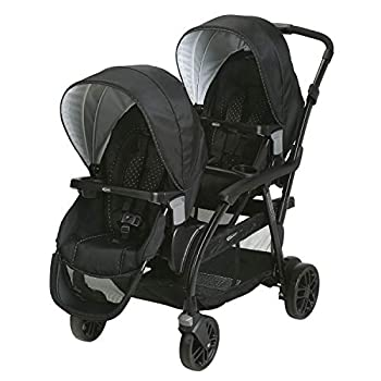Graco Modes Duo Double Stroller | 27 Riding Options for 2 Kids Balancing Act