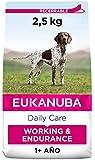 EUKANUBA Daily Care Working & Endurance - Alimento Seco para Perros Adultos, Receta para Trabajo y Resistencia 2.5 kg