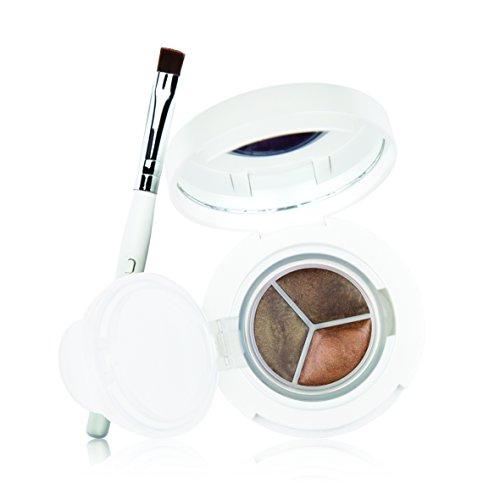 New CID Cosmetics i-Gel Browns Eyeliner Trio with Brush