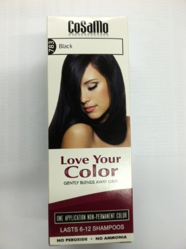 CoSaMo 783 Love Your Color Black (Pack of 3)