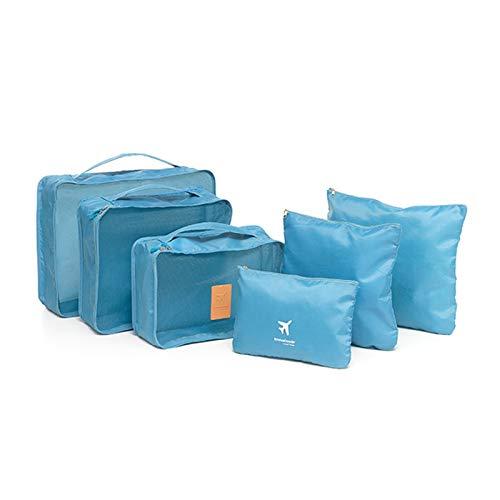Shop-STORY – LUGGAN – Juego de 6 bolsas de almacenamiento para equipaje