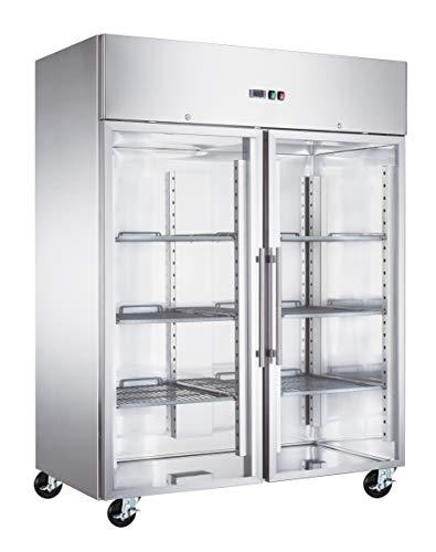 Tiefkühlschrank PREMIUM 1,48 x 0,83 m - mit 2 Glastüren