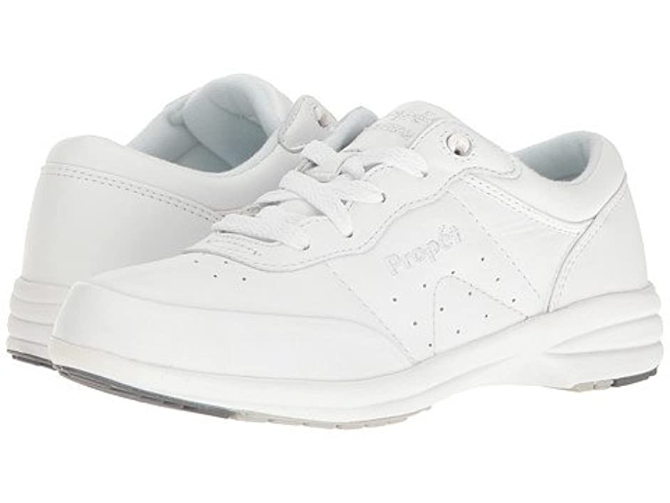 ラッシュ噴火通り(プロペット) Propet レディースウォーキングシューズ?カジュアルスニーカー?靴 Washable Walker Medicare/HCPCS Code = A5500 Diabetic Shoe White 5.5 22.5cm W (D) [並行輸入品]