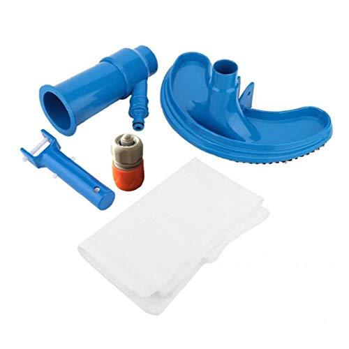 TOPofly Piscina Aspirador portátil Limpiador de la Piscina Piscina Jet Vacuum Cleaner submarina con la Bolsa de la Hoja Piscina Cleaner