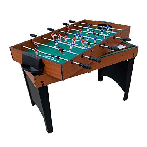 Tischbillard Multigame-Spiel Tabelle 4 In 1, Einschließlich Komplettes Zubehör, Spieltisch mit Teleskopstange Tischfußball, Billardtisch, Tischtennis, Speed Hockey Tischplatten ( Color : Style1 )