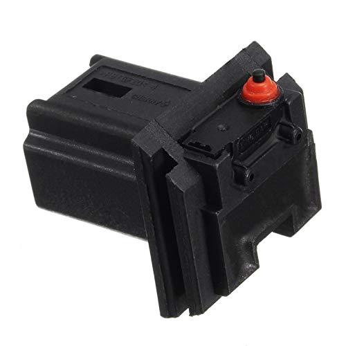 HSHUIJP Estilismo de automóviles y Accesorios corporales Interruptor Micro de Bota de Bota Negro para Citroen C3 C4 C3 para Peugeot 206 307 308 407 6554v5 Automotriz