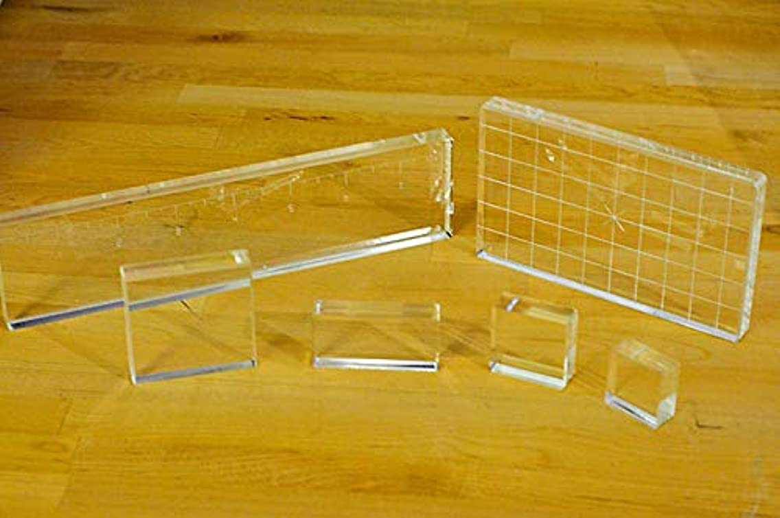 Acrylic Blocks for Card-Making and Scrapbooking Supplies by The Stamps of Life- Group A