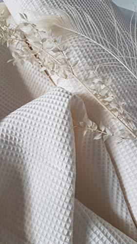 Generisch Tejido de piqué de algodón, por metro, ropa de bebé, ropa infantil, ropa para bebé, ropa infantil, 1,50 m de ancho, certificado Öko-Tex Standard 100