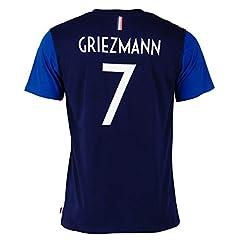 Camiseta Selección Francesa 1ª Equipacion 2018 para Niño