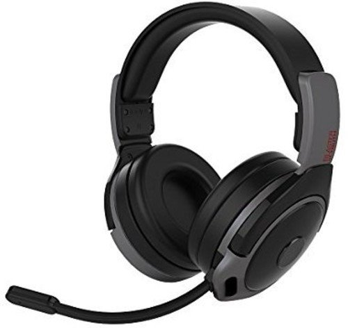 pdp audio headsets PDP Gaming Sound Of Justice Wireless Headset With Noise Cancelling Microphone: Black - PS4