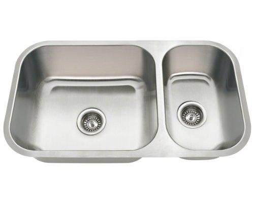 Polaris Sinks PB8123-R Undermount Stainless Steel Kitchen Sink