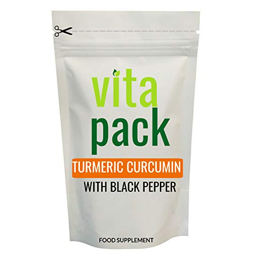 Turmeric Curcumin & Black Pepper Tablets - 60 Pack - 2 Month Supply - High Strength 1,500mg - 95% Curcumin - 10mg Piperine from Black Pepper Extract - UK Made