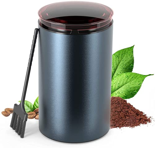 Coffee Grinder Electric Coffee Grinder, Spice Grinder with 304 Stainless...