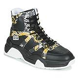 Versace Jeans Couture Yzasfa Entrenadores Hombres Multicolor Alta Parte Superior Zapatillas Zapatos, (Multicolor), 42 EU