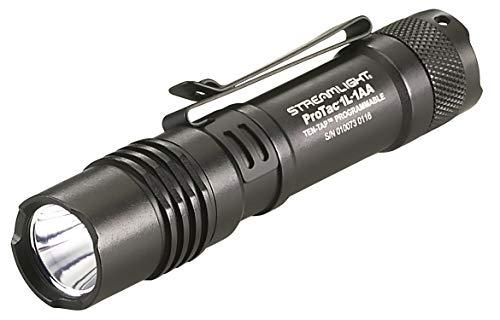 Streamlight 88061 ProTac 1L-1AA 350-Lumen Dual Fuel Professional Tactical Light, Black