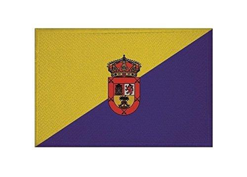 U24 applicatie Gran Canaria vlag opstrijkapplicatie 9 x 6 cm
