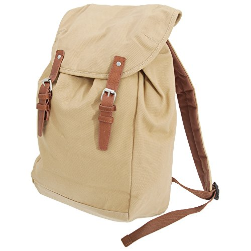 Quadra Vintage Rucksack/Backpack (One Size) (Sahara)