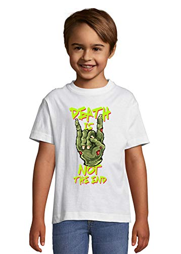 Death Is Not The End Zombie Hand Pixel Art La Camiseta del niño Medium