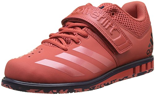 adidas Men's Powerlift.3.1 Fitness Shoes, Red (Trasca/Trasca/Nobink Trasca/Trasca/Nobink), 13 UK