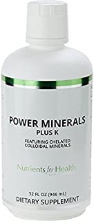 Colloidal Minerals - Power Minerals Plus K - 32 Fl Oz – Nutrients for Health by WT Rawleigh