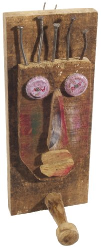 Ian Snow Wandkapstok, design: tribalmasker