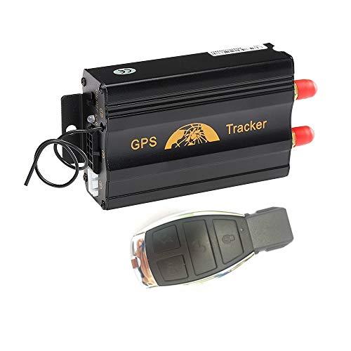 MUXAN GPS Tracker gsm GPRS GPS Localizzatore Satellitare Antifurto Monitoraggio Posizionamento Allarme di Emergenza in Tempo Reale per Auto Veicolo TK103B
