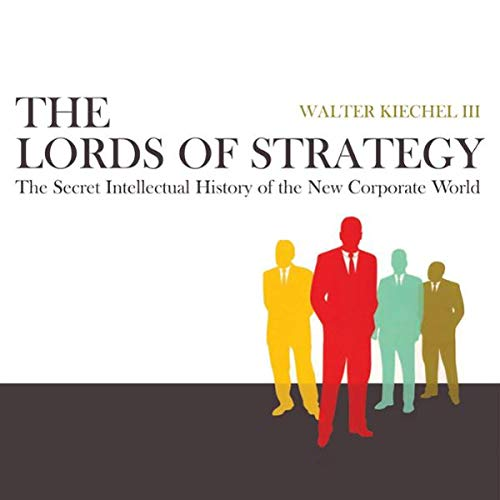 Page de couverture de The Lords of Strategy